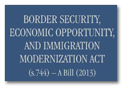 Border Security Economic Opportunity and Immigration Modernization Act of 2013 Cover